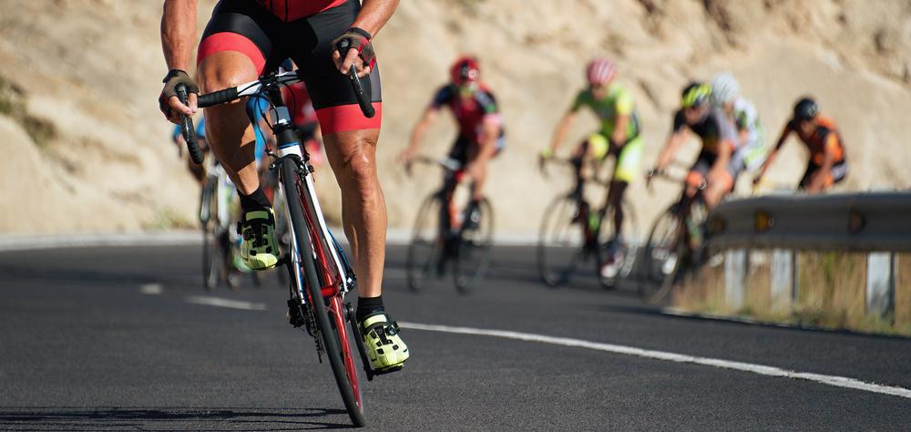 Cyclist breakaway